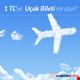1 TL uçak bileti