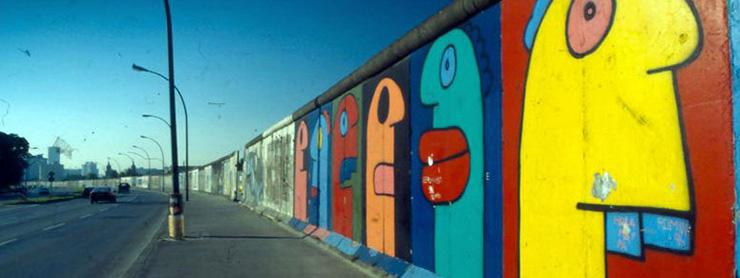 Berlin doğu yakası duvar yazısı