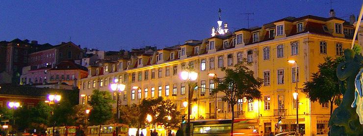 Lizbon Rossio Meydanı, Portekiz