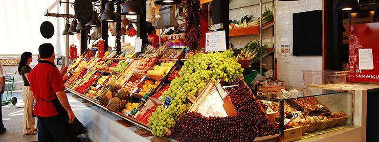 Madrid yemek ve meze marketi