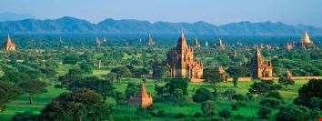 Myanmar manzara