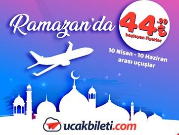Ramazan Uçak bileti 2018
