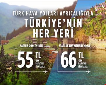 Türkiye'nin Her Yerine 55 TL ve 66 TL'den Başlayan Fiyatlarla