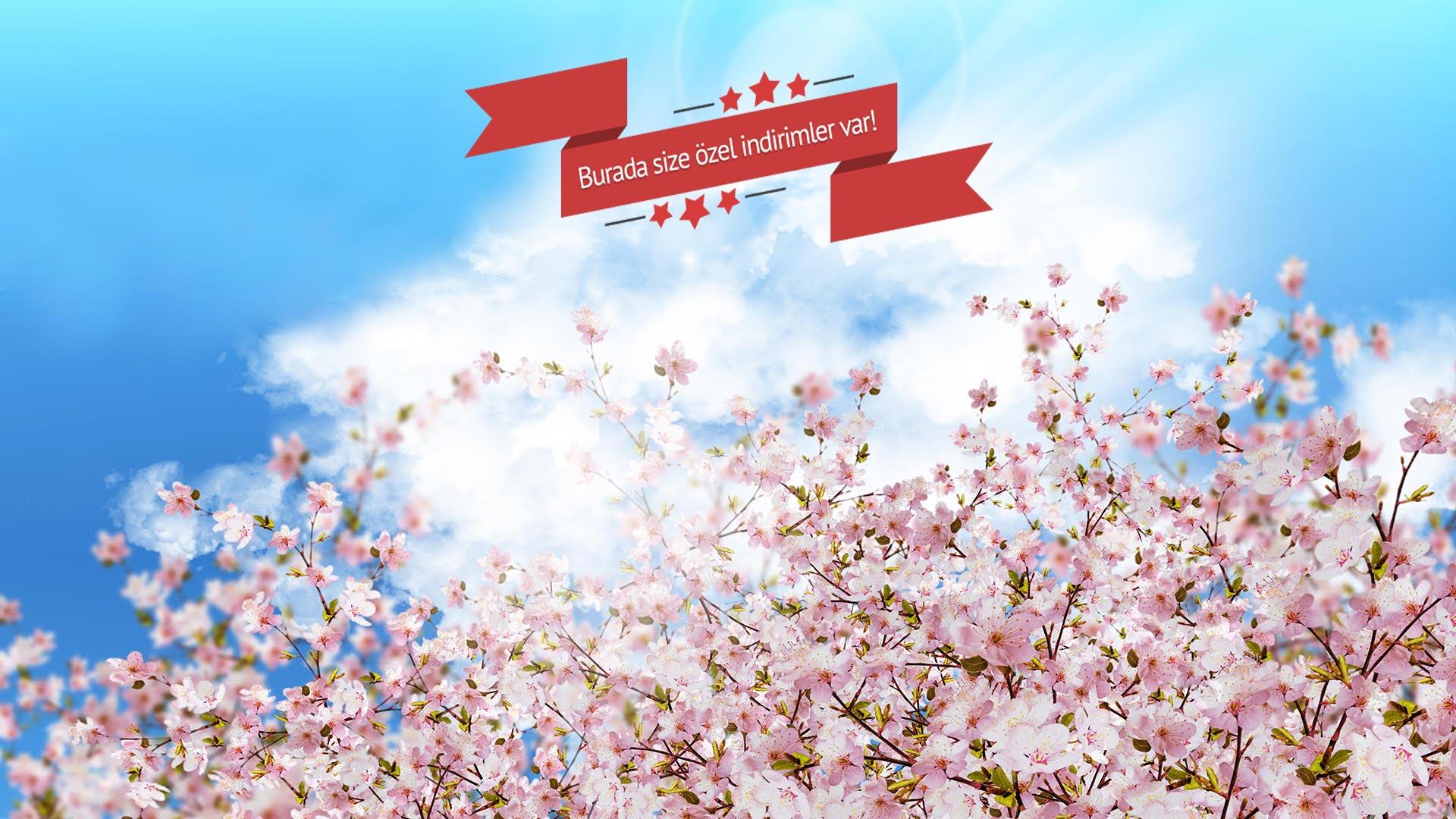Ucakbileti.com'da Bahar Fırsatı