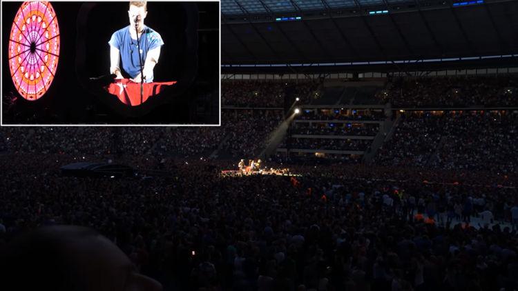 Coldplay'den Türkiye için Anlamlı Hareket