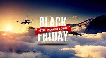 Black Friday - Tüm Uçak Biletlerinde Özel İndirimler