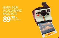 İzmir Ağrı Uçuşları Yalnızca 89'99 TL'den Başlayan Fiyatlarla