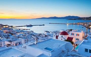 Mykonos mu Santorini mi?
